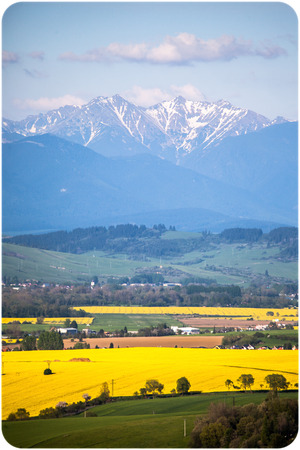 liptov: Beautiful region Liptov at Slovakia