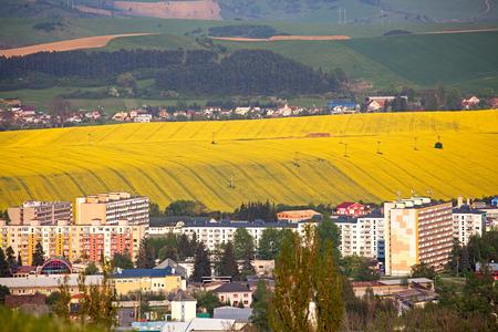 ruzomberok: Peque�a ciudad Ruzomberok en Eslovaquia
