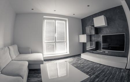 Modern appartement Stockfoto