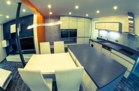 Modern appartement Redactioneel