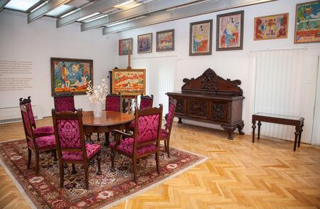 ruzomberok: RUZOMBEROK, SLOVAKIA - JULY 22: Gallery of Ludovit Fulla on July 22, 2014 in Ruzomberok Editorial