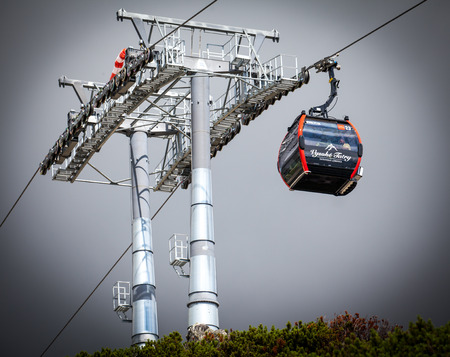 cableway: New cableway in High Tatras, Slovakia