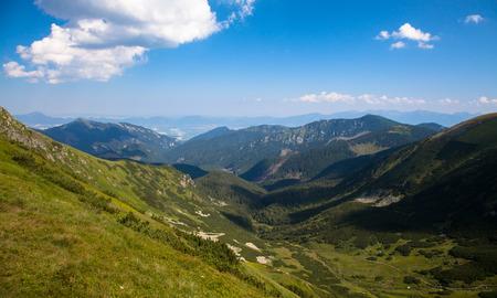 liptov: View from Low tatras mountains, Slovakia Stock Photo