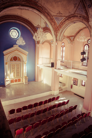 ruzomberok: Jewish Synagogue at town Ruzomberok, Slovakia Editorial
