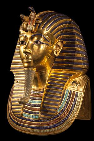rey: Máscara de Tutankamón