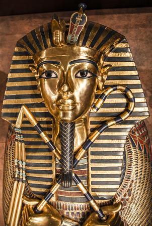 Detail of Tutankhamuns sarcophagus