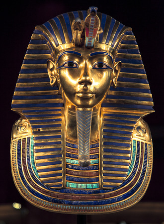 king of kings: Tutankhamuns burial mask