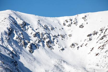 tatras: Snowy mountains in Low Tatras, Slovakia