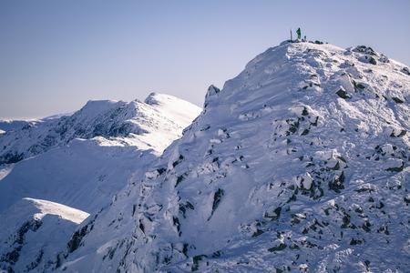 tatras: Hill Chopok at Low Tatras mountains, Slovakia Stock Photo