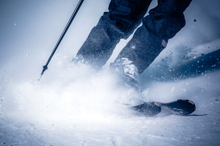 skiing: Skiing at Low Tatras, Slovakia