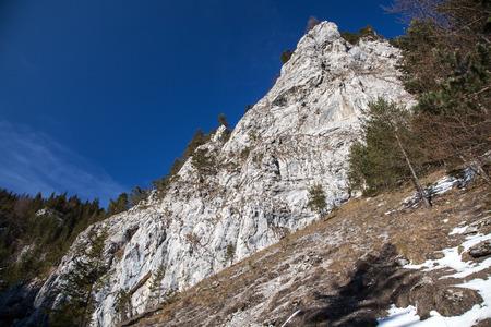 liptov: Stone formations in Prosiecka dolina at  Slovakia