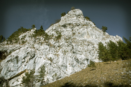 formations: Stone formations in Prosiecka dolina at  Slovakia