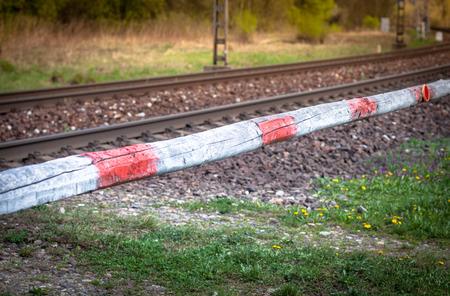 wood railways: Old railroad crossing