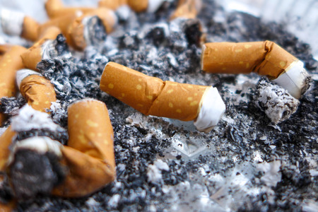 fag: Cigarette butts