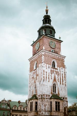 krakow: Tower at square at Krakow, Slovakia
