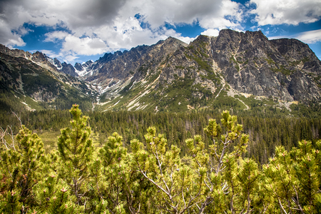 tatras: High Tatras mountains, Slovakia