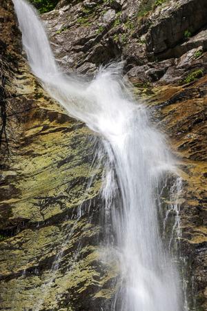 slovakia: SUTOVSKY waterfall, Slovakia