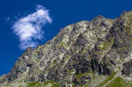 tatras tatry: High Tatras mountains at SLovakia Stock Photo