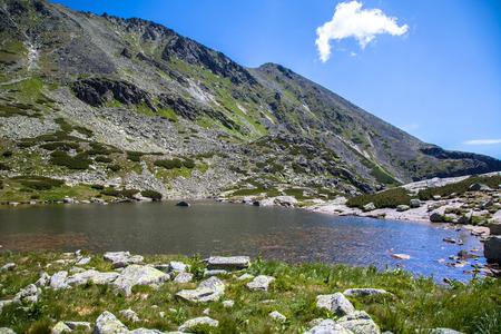 tatras: Tarn in High Tatras mountains, Slovakia