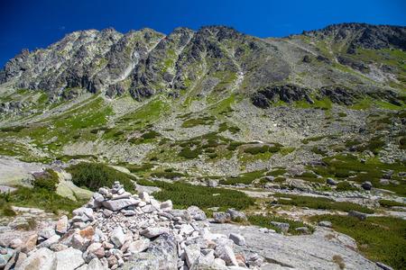 tatras: High Tatras mountains at SLovakia Stock Photo