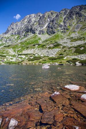tarn: Tarn in High Tatras mountains, Slovakia