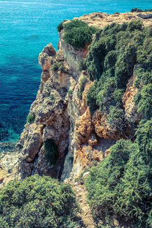 the crags: Cliff at Malta