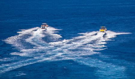 blue lagoon: Boats on the sea, Malta