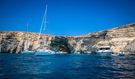 blue lagoon: Yacht di lusso a Laguna blu - Comino, Malta