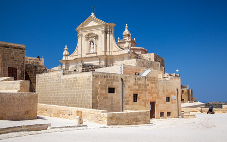 fortification: Fortification Cittadell in city Victoria, Malta