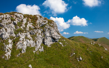 mala fatra: Hill - Chleb - in range Mala Fatra, Slovakia