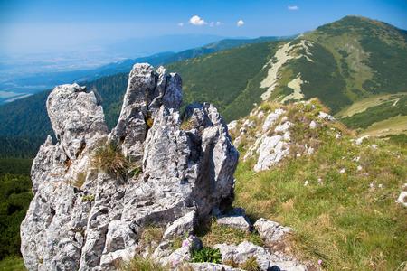 hill range: Hill - Velky Krivan - in range Mala Fatra, Slovakia