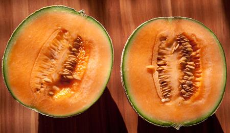 cantaloupe: Cantaloupe - muskmelon
