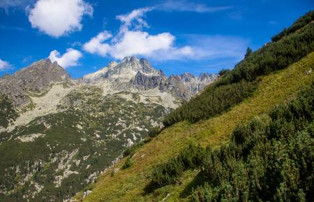 tatras: High Tatras mountains, SLovakia Stock Photo