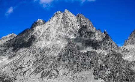 tatras: Peak in High Tatras mountains, Slovakia