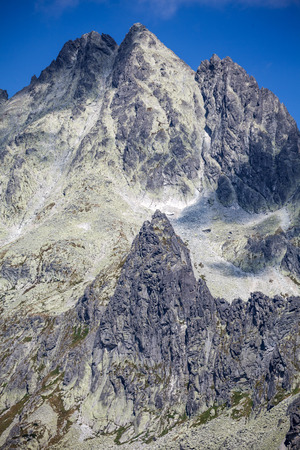 Peak in High Tatras mountains, Slovakia