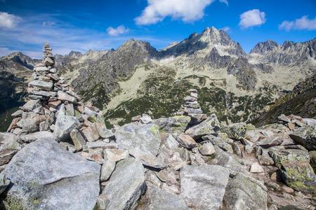 tatras: High Tatras mountains from peak Ostrva, SLovakia
