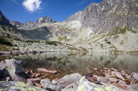 tatras: Tarn Batizovske pleso in High Tatras, Slovakia