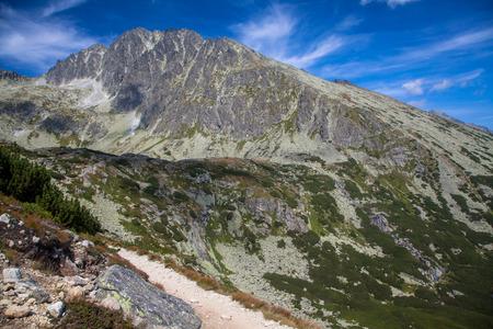 Gerlachovsky peak in High Tatras mountains, Slovakia