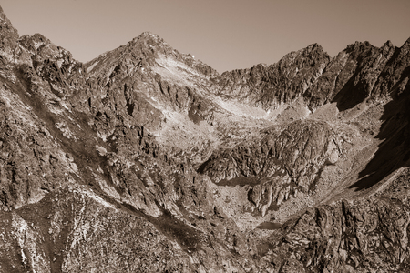 Mlynicka valley in High Tatras mountains, Slovakia