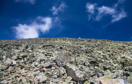 Rocky hillside in High Tatras mountains, Slovakia