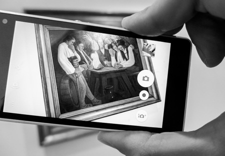 galley: Picture through monile phone
