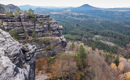 bohemian: Autumn in Bohemian switzerland