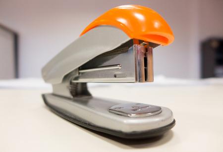 office stapler: Stapler in office