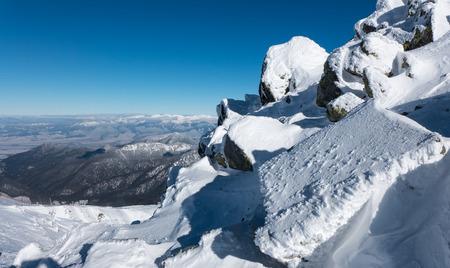 liptov: Region Liptov from Low Tatras mountains, Slovakia Stock Photo