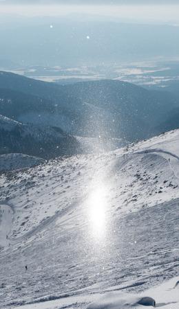 tatras: Chemtrails wow in Low Tatras mountains, Slovakia