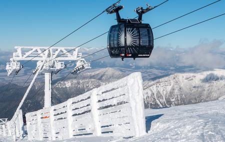 tatras: Cableway in Low Tatras, Slovakia