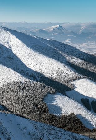 choc: Hill Choc from Low Tatras mountains, Slovakia