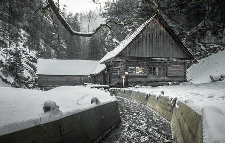 liptov: Watermill in Kvacianska dolina - Oblazy, Slovakia