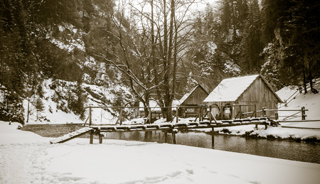 molino de agua: Molino de agua en Kva?ianska dolina - Oblazy, Eslovaquia