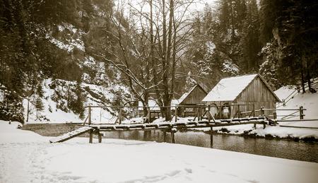 molino de agua: Watermill in Kvacianska dolina - Oblazy, Slovakia